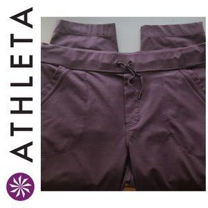 Athleta Purple Capris